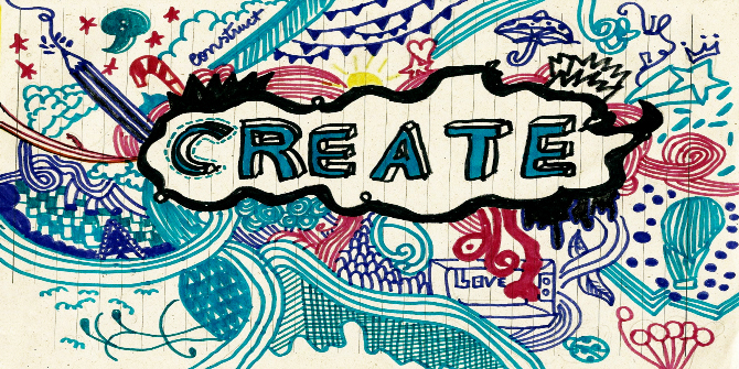 Being creative…